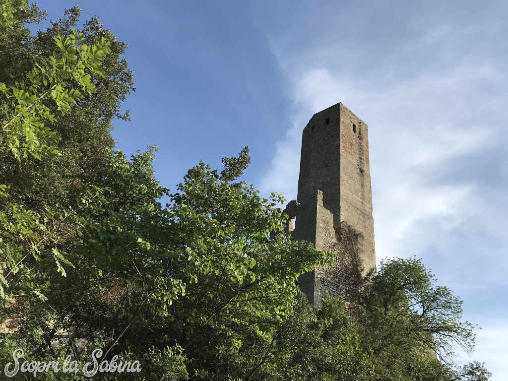 la torre longobarda di catino