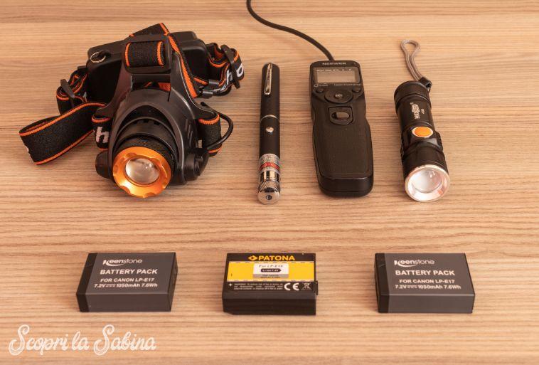 canon reflex accessori