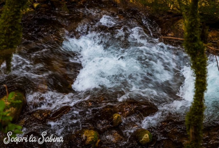 gole del farfa cascata escursione vicino roma