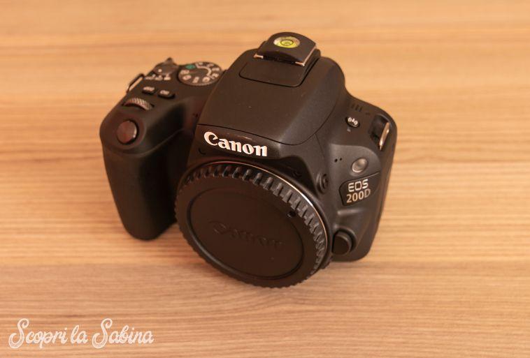 reflex canon eos 200d