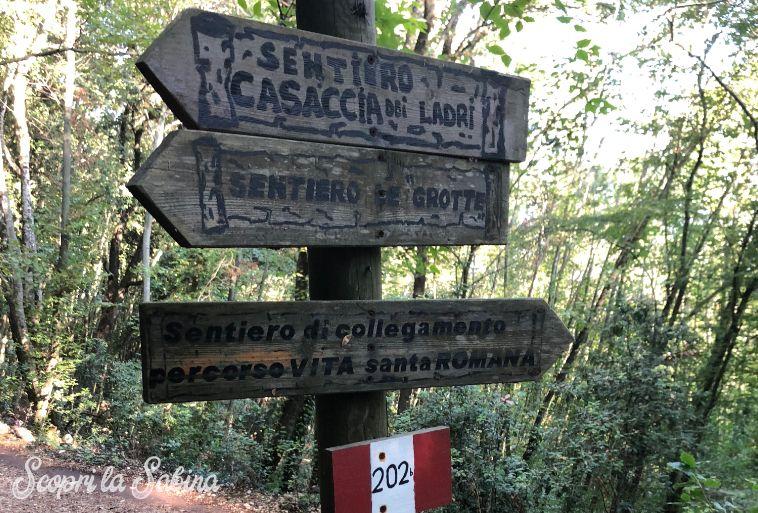 sentieri trekking monte soratte